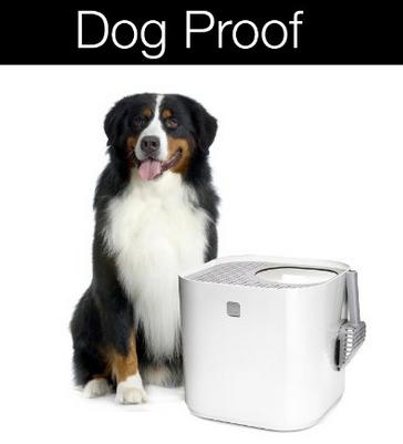 designer dog proof cat litter box