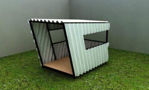 james sun modern dog crate