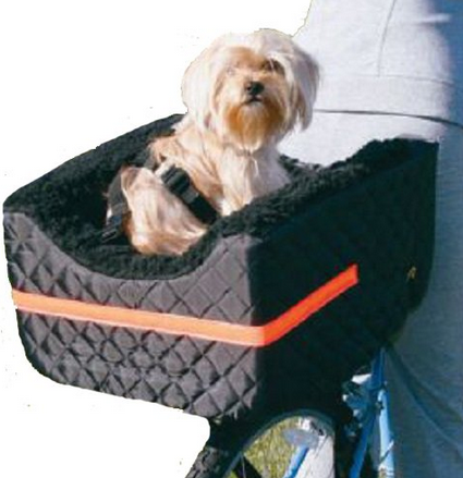 rear dog bike basket