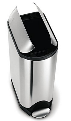 metal dog proof trash can